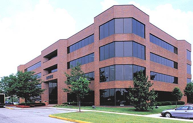 Belden Brown Brick Office Building