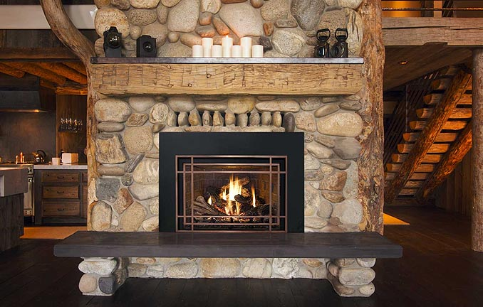 Mendota Luxury Fireplace Stella